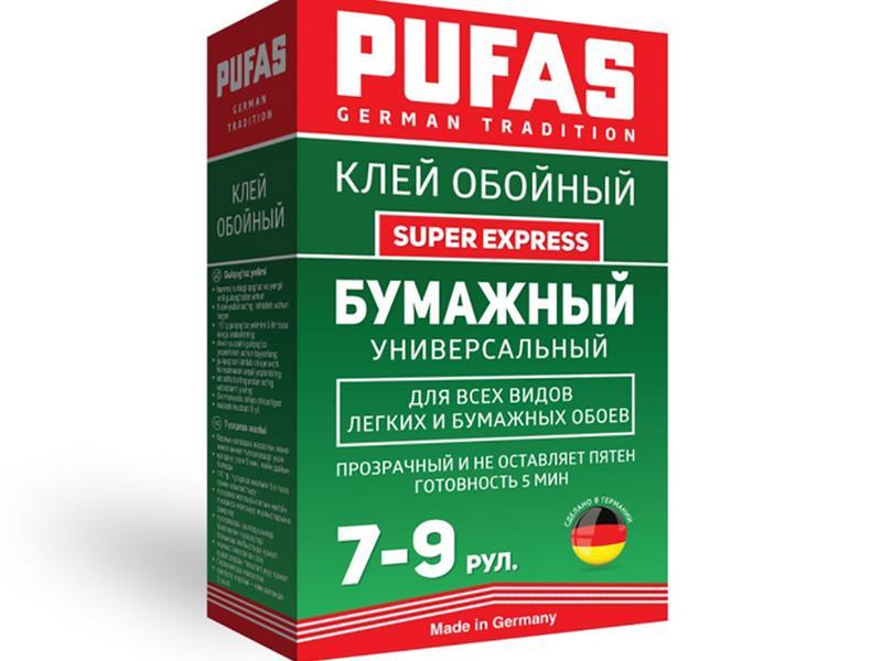 Обойный клей PUFAS GT Бумажный Super Express